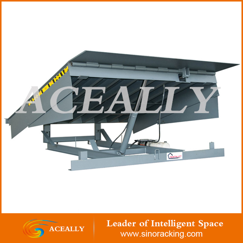 ACEALLY Manual adjustable load dock ramp leveler for container truck