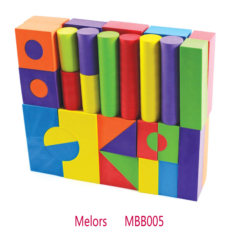 Melors EVA Educational toy UV Resistant baby building blocks Wholesale