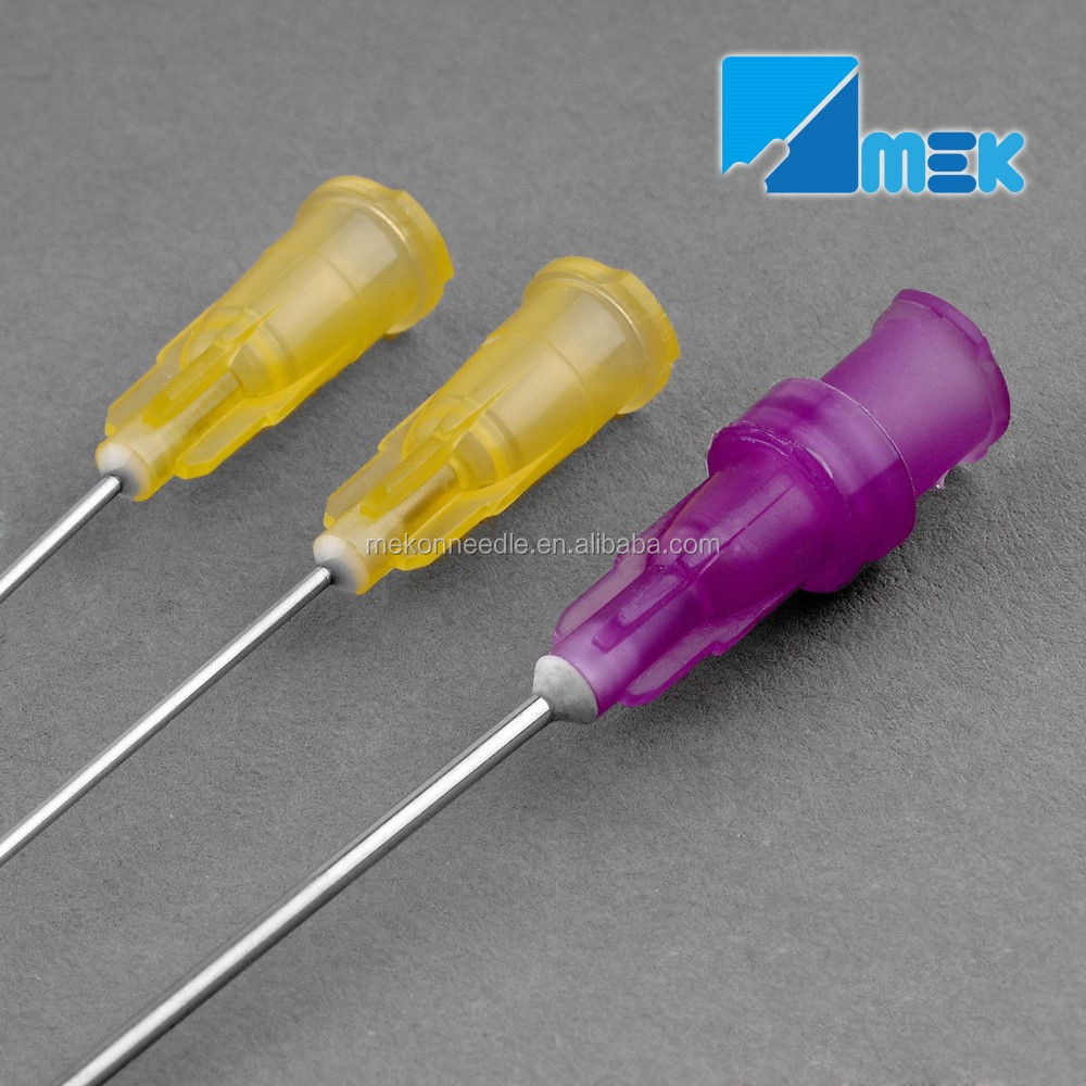 disposable blunt cannula needle