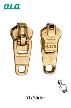 亜鉛 Yg スライダー (旧タイプ) 高品質/荷物/ジーンズ/ジッパー金属ジッパープラーとスライダー