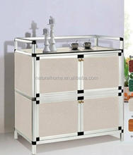 Kitchen drawer aluminium alloy cabinet