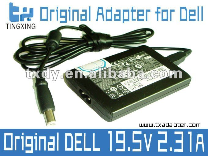 19.5V 2.31A 45W Original for Dell Ultrathin Adapter PA-1450-01D, PA-20 Family, LA45NS0-00, with DC 7.4*5.0mm Pin