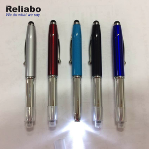 Reliabo Buy China Products Customized Logo Printed Multi-Function Led Torch Light Pen