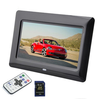 7 Inch Hd Digital Photo Frame Picture Frame Led Electronic Photo