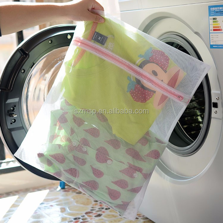 Custom Wholesale Mesh Washing Eco Friendly Bags Wholesale Reusable Produce Laundry Wash Bag