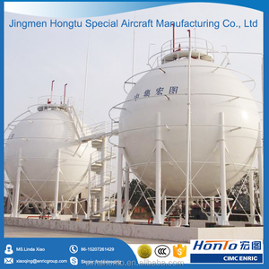 2000m3 spherical LPG/CNG/LNG storage tank for oil field