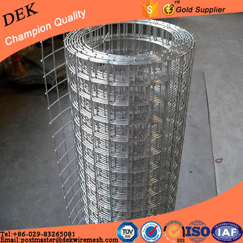 Heavy Duty Welded Wire Fence Bright Galvanized Welded Mesh Panel ...