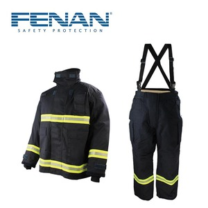 Firefighter protective body suit