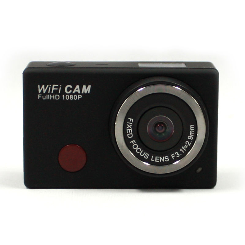 Winait full hd 1080p wifi action camera/gravador de vídeo de esportes Microfone build-in