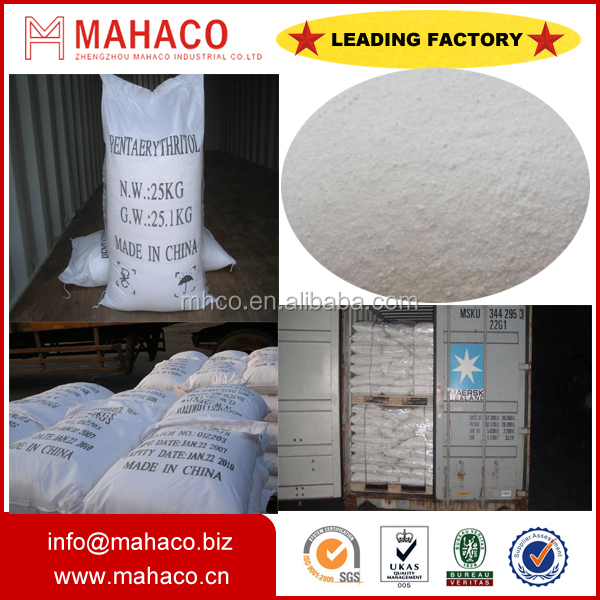 Industrial 98% pentaerythritol for painting