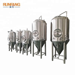 Craft Beer Brewing System Glycol Water Cooling Temperature Control Fermenting System
