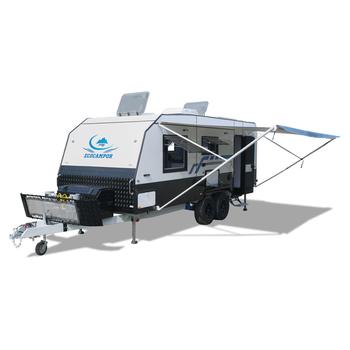 Ecocampor Aluminum Travel Trailer Caravan Manufacturers With 34
