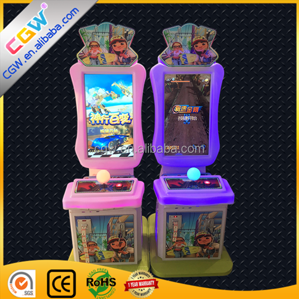 CGW Simulator Arcade Racing Car Game Machine For Kids