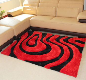 Center Good Shaggy Area Rugs