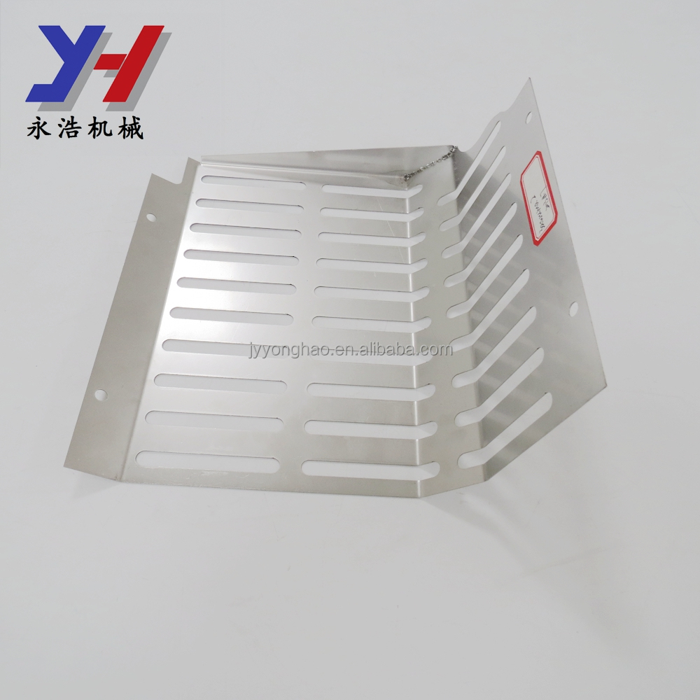 OEM ODM factory manufacture stainless steel 304 stamping part radiator cover plate with fixing screw holes as your drawing