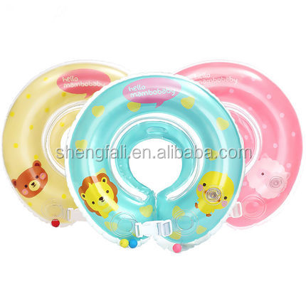 2017 Hot sale safe baby infant swimming neck ring for sale