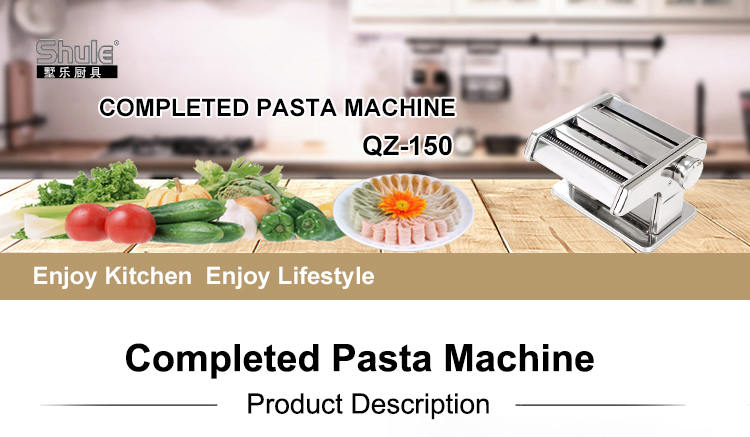 shule Italian fettuccine pasta machine for home use