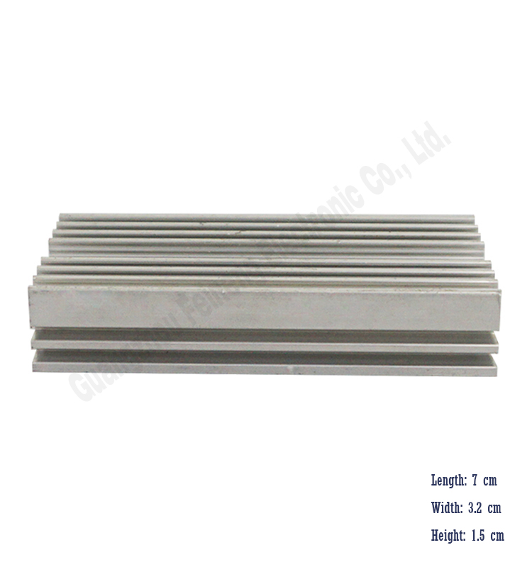 selling aluminum heatsink car amplifier extrusion heat sink
