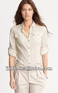 customize lady new blouses fashionable 2012