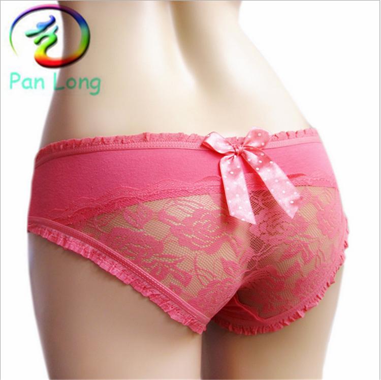 Cheap Price Teen Girls Cute Dots Stock Lots Custom Lace Underwear ...