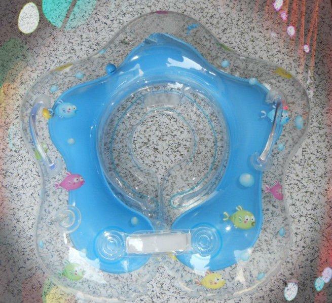 Gonflable en plastique baignoire b b cou anneau bou e de for Grande baignoire plastique