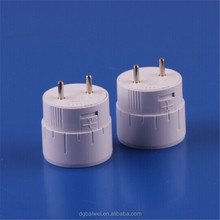 New design T8 Lockable rotating end caps//T8 rotating clip-on G13 led Fluorescent tubes Plastic end caps / Turning lampholder