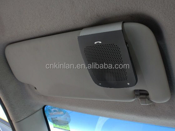 Universal Car Kit with Car Visor Clip Wireless Speaker for in-car Hands Free Calls Kinlan WS101