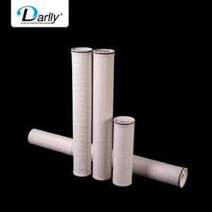 HF Series High Flow Pleated Filter Cartridge replace PALL dirt holding capacity large filtration area