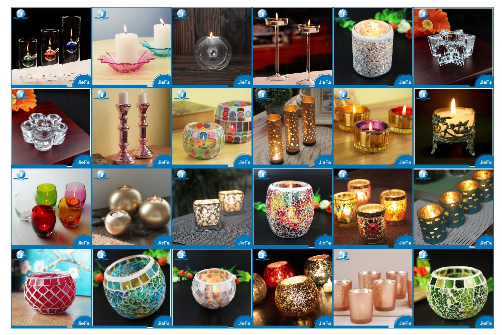 Laser Scented tealight candles holders for wedding deco