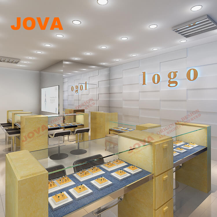 Free Customized Jewellery Showroom Interior Design In Furniture