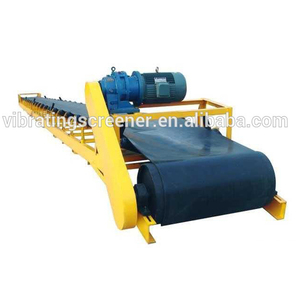 Fire resistant coal stone belt conveyor of handling equipment