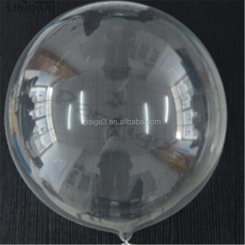 10inch 18inch 24inch Clear Transparent Round bubble Balloons Without Wrinkle