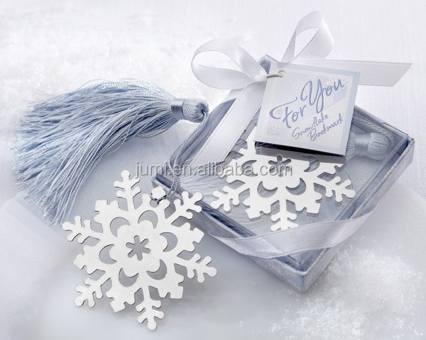 Lovely cute snowflake bookmark graduation gifts for graduate students