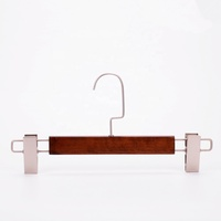 Inspring clothing trouser hanger hanging rack with clips