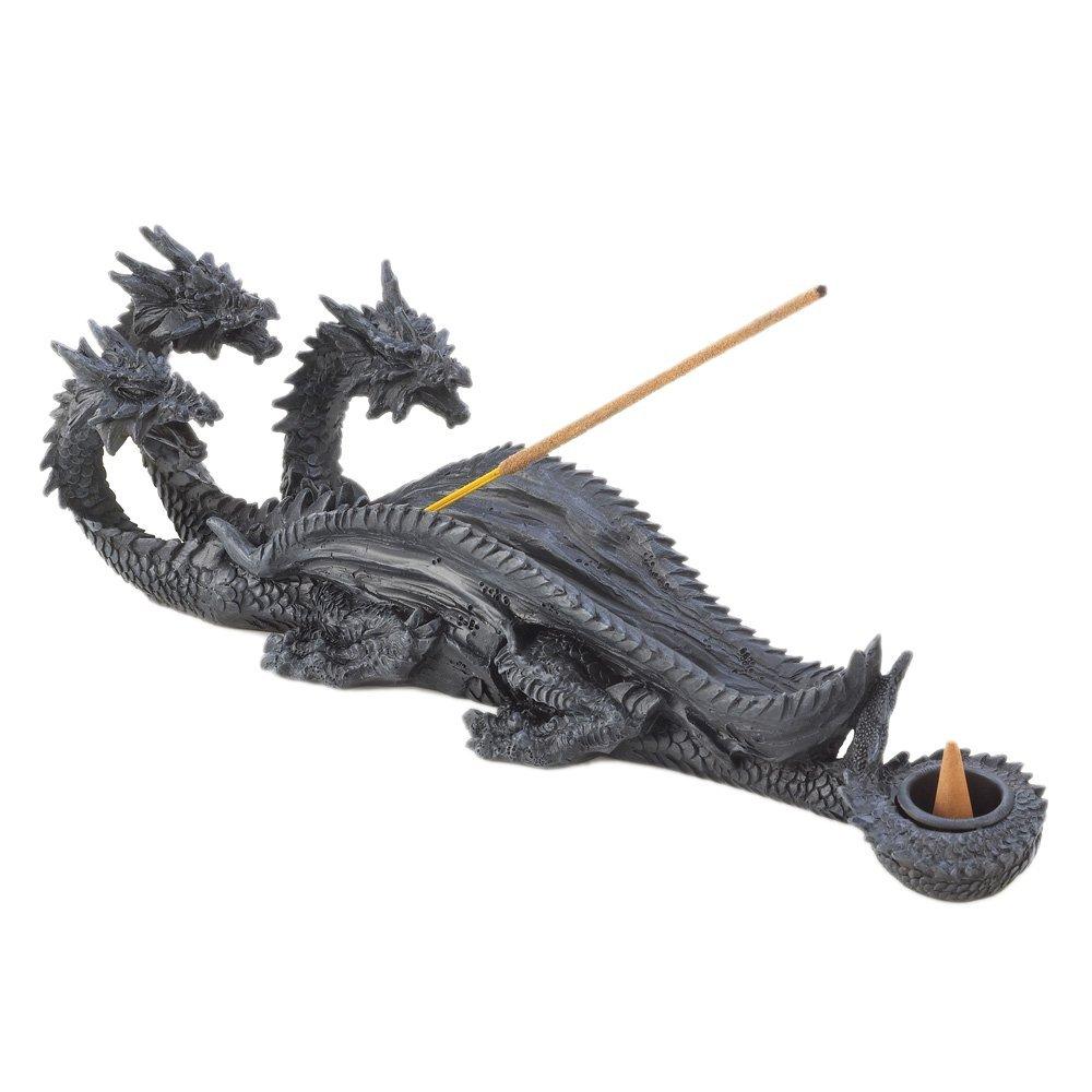 Buy Koehler Home Decor Triple-Head Dragon Mystical Scene