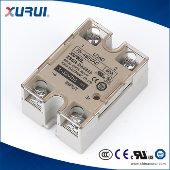 Ul Tuv Ce Apprved 32vdc Input Dc To Ac 40amp Solid State Relay Ssr