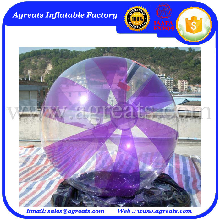 Top selling running water balls aqua water balls for adults GW7492
