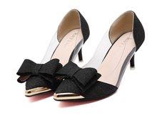 Элегантные женские туфли на тонком высоком каблуке с острым носком; большие размеры 40; весенние женские туфли-лодочки; Mujer; Летний стиль; цве...(Китай)