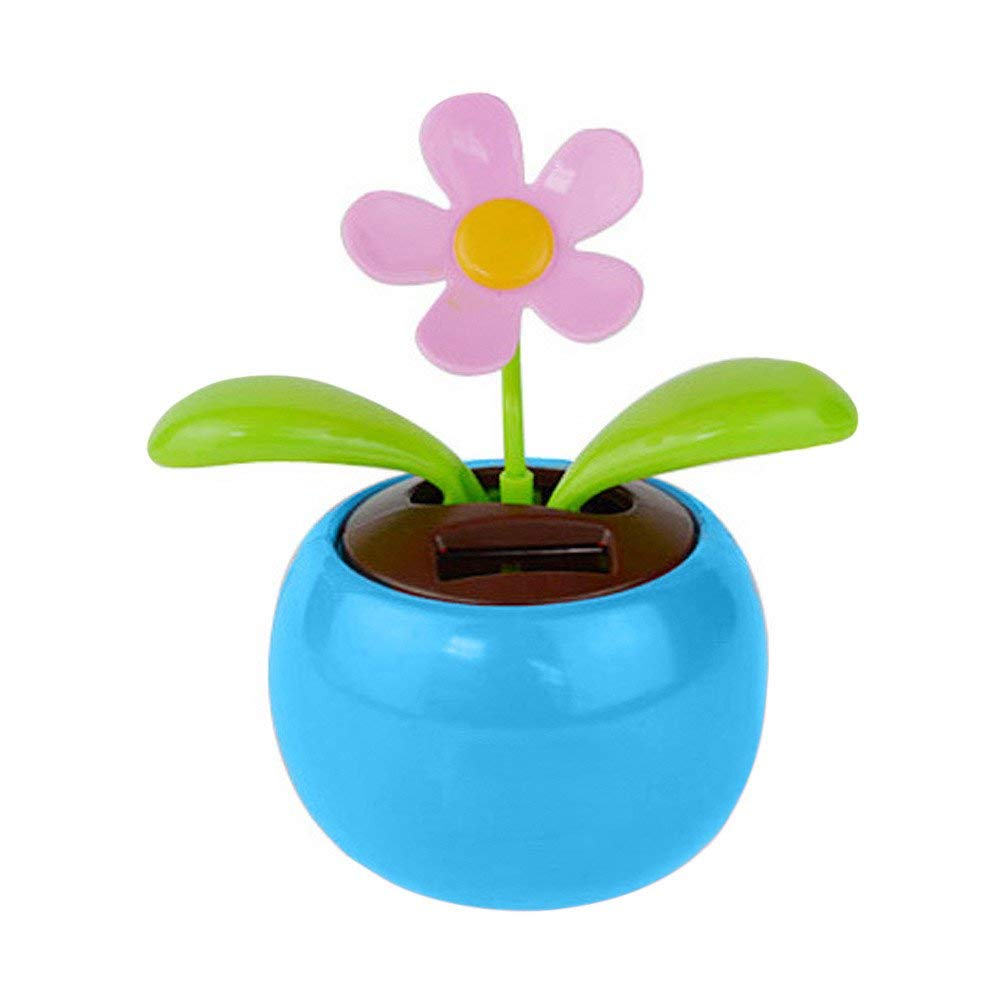 f16248919055e Get Quotations · MatureGirl Eco-Friendly Solar Powered Dancing Flower with  Colorful Pot