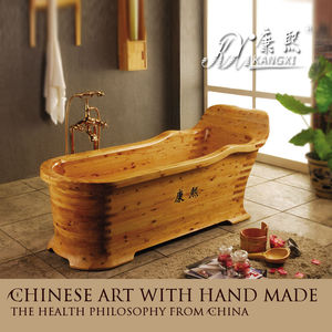 2015 new style ! Decorative hand painted wooden bathroom tubs and sinks