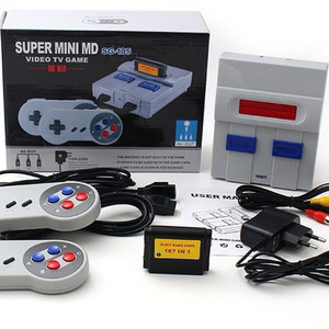Excel Digital 16 Bit Super Mini SG-105 Multifunctional Video Game Console  With 168 Games For Fun