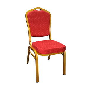 Hotel Banquet Chair Gold Dining Aluminium Banquet Fancy Chairs For Sale