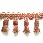 Newest Decoration Polyester Tassel Fringe Used for Curtain, Home Textile, Furniture