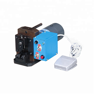 Good quality noiseless crystal head connector crimping wire terminal crimping machine