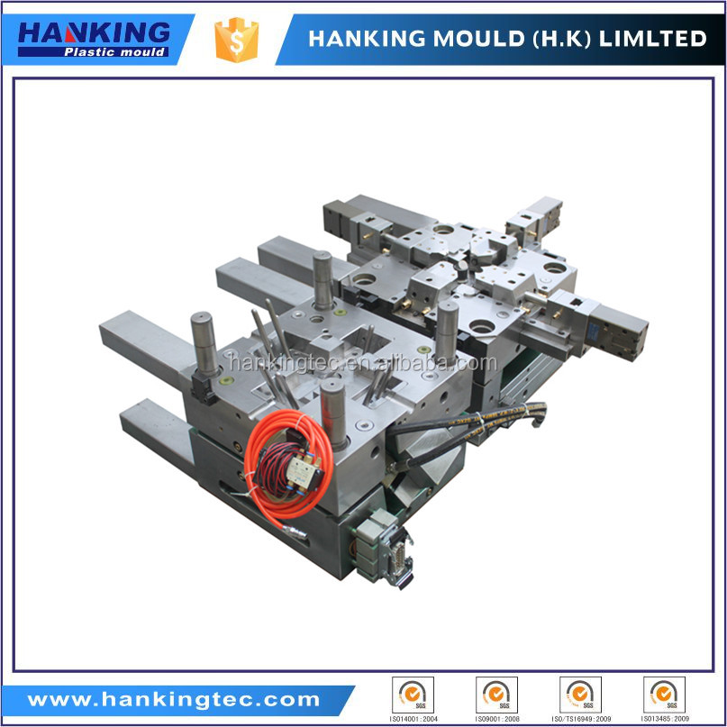 High quality 2 shot mold tooling overmolding plastic injection tools and OEM plastic injection molding