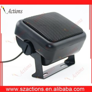 Professional CB GPS External Speaker 3W Radio Mobile Mini EXT Megaphone Factory Direct Supply