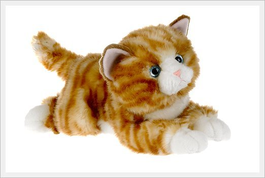 Kita Plush Toys Nature Babies Orange Tabby Cat Buy Plush Toy