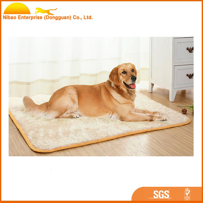 luxury super soft plush baby animal mat dog bed for pet
