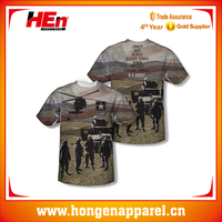 Army Values All Over Sublimation T Shirts With Custom Design