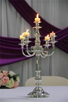 cheap glass funeral candlesticks silver plated candlesticks
